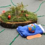 012 Montessoripädagogik-Jahreskreis, Sonne Erde Mond (AP, 2012-12-01)
