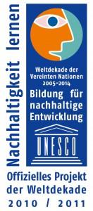 Logo_UN-Dekade_Offizielles Projekt_2010_2011_rgb